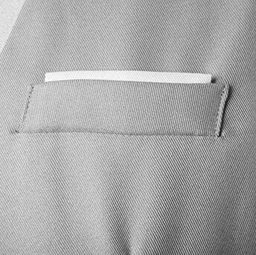 Petto Del Signore Di Modo Decorato Maglia Del Vestito Multi-tasto Da Uomo 2