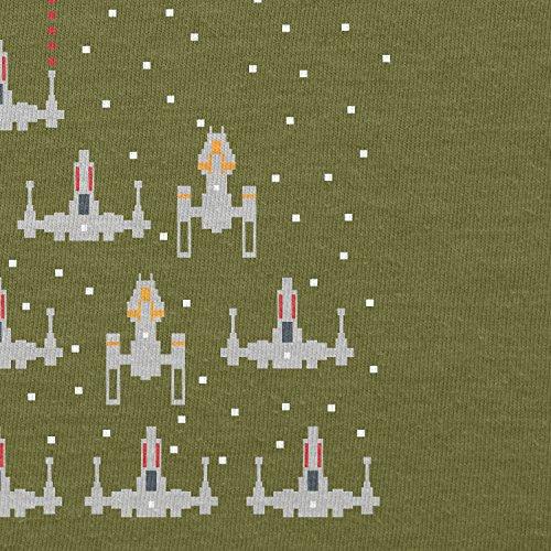 Texlab–Pixel Wars–Sacchetto di stoffa Oliva