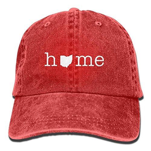 fboylovefor Baseball Cap Home of Ohio State Unisex Retro Adjustable Snapback Cap Dad Trucker Hat