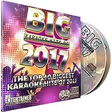 Mr Entertainer Big Karaoke Hits de 2017 - Double CD + G (CDG) Pack. 40 meilleurs morceaux