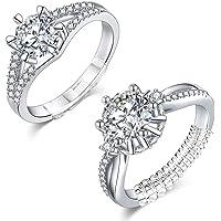 Eiito Adjuster anelli Ring Size Adjuster (14-pezzi) riduttore per anello adjuster anelli (Set di 7 taglie)