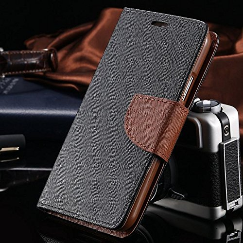 New Flip Wallet Diary Mercury Flip Cases Cover For ONE PLUS 2 (1+2) (BROWN)-By Cover Villa
