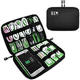 OrgaWise Bolsa Cables de Viaje Electrónico Organizador de Cable para Cargador, Cables, Objetos, Kindle, Adaptadores, Tarjetas