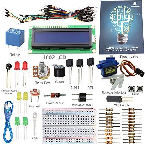 SunFounder Progetto Starter Kit per Arduino UNO R3 Mega2560 Mega328 Nano - Potenza Fet