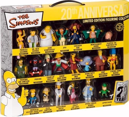 Simpsons 20th Anniversary PVC Figures Collector's Box Set (21) United Labels
