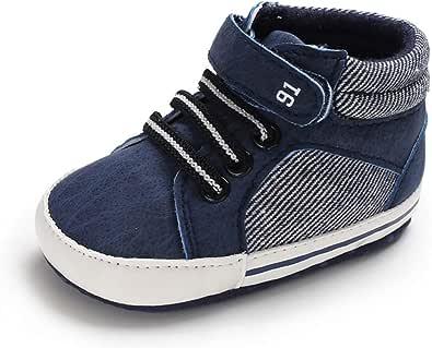 MASOCIO Baby Schuhe Junge M/ädchen Babyschuhe Lauflernschuhe Kleinkind Flach Gummi Anti-Rutsch