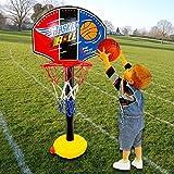 Ularma Baby Kinder Basketballkörbe Basketball Zielbrett Set Höhe Einstellbar Woner Pefrkt Geschenk