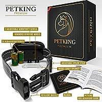 Petking–Collier anti aboiement pour chien efficace, sûr et sans cruauté pour les races petites, moyennes et grandes, sans chocs ou spray, utilisation de vibrations.