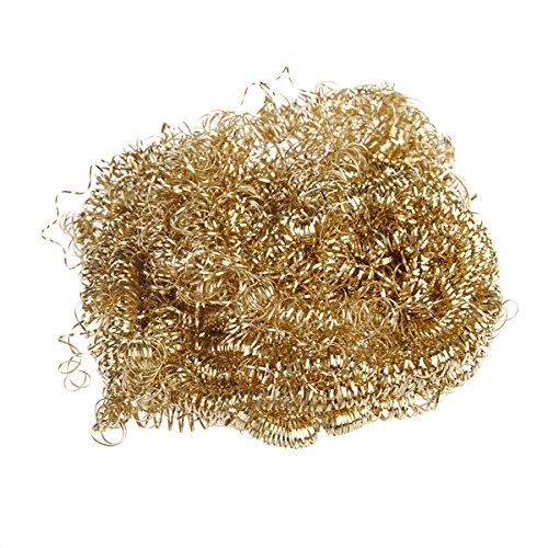 DyNamic Goden Soldering Solder Iron Tip Cleaner Set Sponge Reinigungs-Curls - Solder Tip Cleaner
