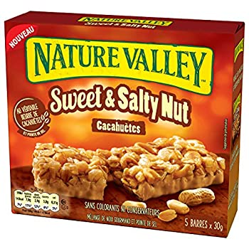 Nature Valley Sweet Salty Beurre Cacahuetes 5 x 30 g
