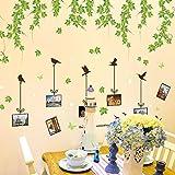 Weaeo Foto Wand Blätter Wand Pvc-Transparente Folie Wandhalterung Zu Entfernen