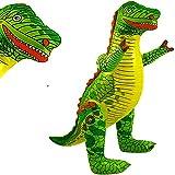 German Trendseller Aufblasbarer Dinosaurier XXL ┃ T-REX ┃ 78 cm ┃ Kindergeburtstag ┃ Party Dekoration