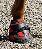 Equine Fusion EF Jogging Hufschuhe (2) Ultra 14 rot