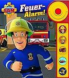 Feuerwehrmann Sam - Feuer-Alarm! - Soundbuch - Pappbilderbuch mit Alarmknopf und 5 spannenden Geräuschen für Kinder ab 3 Jahren