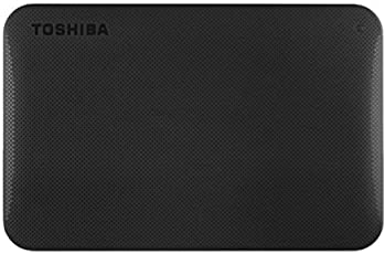 Toshiba Canvio 1TB Portable External Hard Drive (Black)
