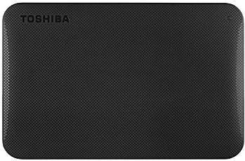 Toshiba Canvio 1TB Portable External Hard Drive (Black)