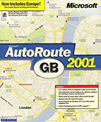 Autoroute 2001 Great Britain & Europe