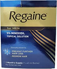 Regaine for Men 5% Minoxidil Topical Solution 1 Month Supply