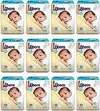 #10: Libero NEW BORN Diaper 10Pc (Set of 12)