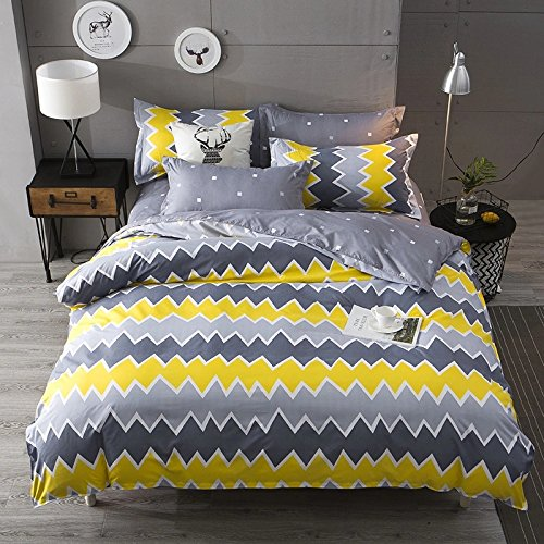 Ahmedabad Cotton 2 Piece 144 TC Cotton Single Bedsheet with Pillow Cover,...