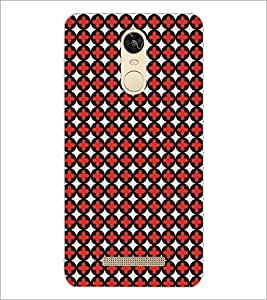 PrintDhaba Pattern D-5481 Back Case Cover for XIAOMI REDMI NOTE 3 (Multi-Coloured)