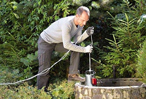 Einhell Schmutzwasserpumpe GC-DP 1020 N (1000 W, max. 18000 l/h, max. Förderhöhe 9 m, Fremdkörper bis 20 mm, Edelstahl) - 6