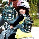 #10: Kraptick Two Wheeler safety belt for kids Baby / Bike safety belt Child for kids /Carrier Protection / Baby Safety Belt Strap for Bike (Green)