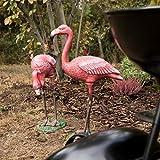 relaxdays deko flamingo metall beispiel