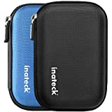 """Inateck 2,5"""" caja de disco duro HDD, Caso de Shell, Cubierta de la Bolsa para 2.5 pulgadas Disco duro externo, Negro"""