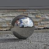 30cm boule en acier inoxydable 30boule en acier inoxydable V2A acier Jardin Boule Décorative