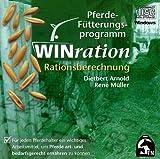 Produkt-Bild: WINration. Pferde-Fütterungsprogramm. Version 2.0. CD-ROM für Windows 95/98/Me/NT4/ 2000: Rationsberechnung per Computer