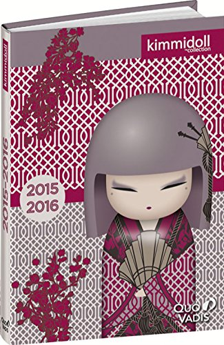 Quo Vadis - Kimmidoll Classic - Textagenda - Agenda Scolaire Journalier 12x17 cm - Année 2015-2016