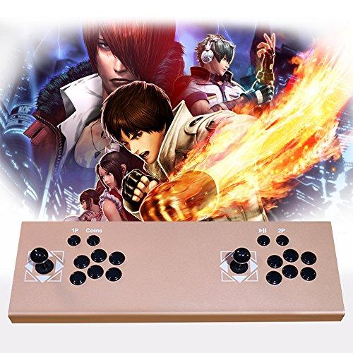 xfuny 2Spieler Stick Arcade KOF/Metall Schnecke/Street Fighter Büchse der Pandora Integrierter, 815Spiele Gold (Buchsen Der Spiel)