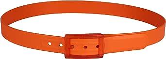 tie-ups Cintura in gomma e plastica Italia Arancio fuori produzione II^ scelta