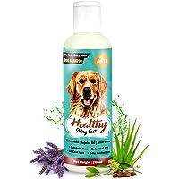Boltz Dog Shampoo for Healthy Shiny Coat with Aloe Vera,Lavender and Jojoba Oil-Sulphate Free-200ml