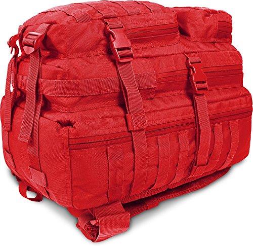 US Assault Pack Large, Rucksack, 50 Liter Signalrot