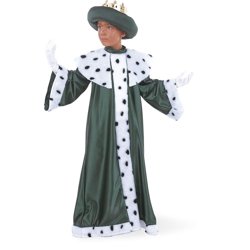 Limit Sport – Disfraz de Rey Baltasar con corona para niños (MI076)