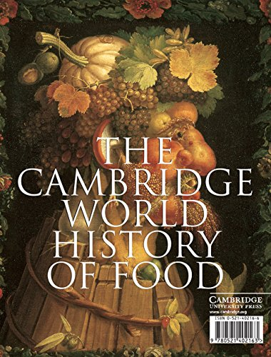 The Cambridge World History of Food 2 Part Boxed Hardback  Set