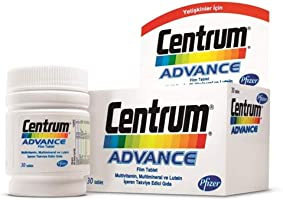 Centrum Advance Multivitamin 30 Tablet YENİ AMBALAJ SKT:02/2020