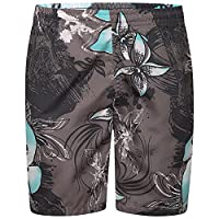New Boys Shorts Swimming Trunks Casual Beach Holiday Board Swimwear Kids (GREY, AGE 10)