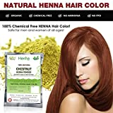 Chestnut Henna Hair Color - 100% Organic...