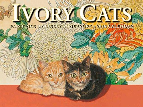 Ivory Cats 2018 Calendar