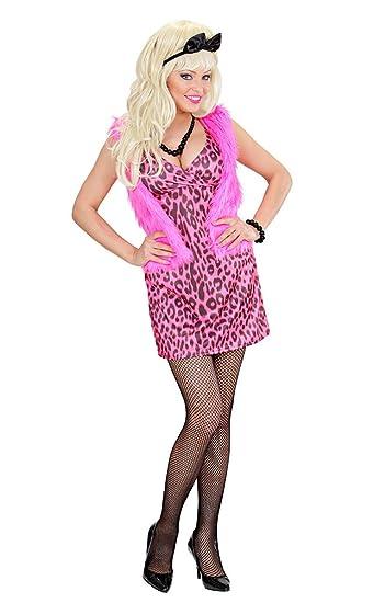 80er kleid rosa