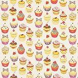 Fabulous Fabrics Baumwollstoff Kleine Cupcake 2 —
