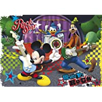 Clementoni 24434 - Puzzle Maxi Mmch The Rock e Roll Band, 24 Pezzi