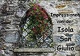Impressionen von der Isola San Giulio (Tischkalender 2020 DIN A5 quer): Ein kleiner Rundgang auf der Isola San Giulio (Monatskalender, 14 Seiten )