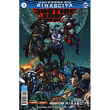 Justice League America. Con Adesivi: 3