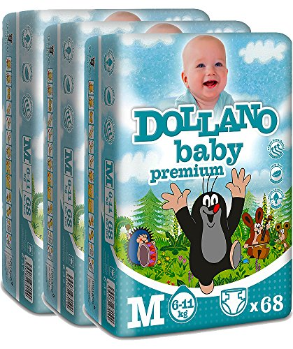 dollano-baby-nappies-premium-panales-para-bebes-premium-sin-latex-sin-cloro-tamano-m-6-11kg-paquete-