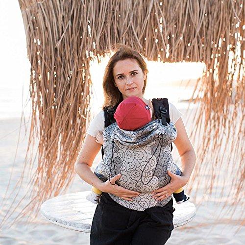 Marsupio ergonomico portabebè neonato Neko Slings (Toddler, Lokum Hazel)