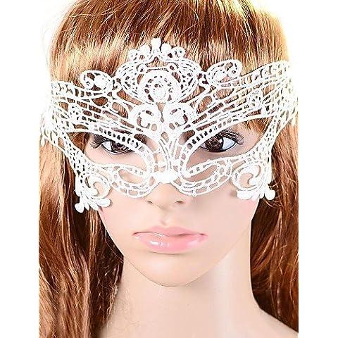 HJL- Women's Europe Vintage Lace Party Mask ,